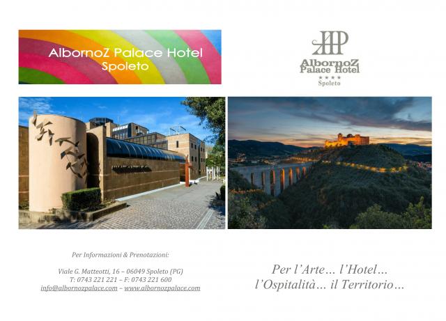 Scarica la Brochure di Albornoz Palace Hotel e scopri chi siamo