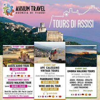 Scoprite i tour di Assisi e prenotate la visita!