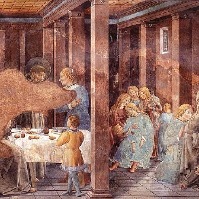 Paintings-by-Benozzo-Gozzoli-in-Montefalco