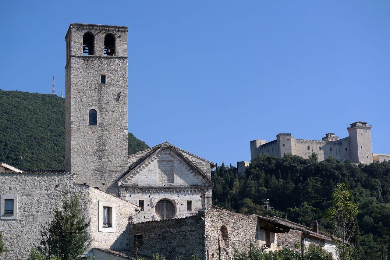 In ogni momento dell'anno potete visitare la bellissima Chiesa di San Ponziano Patrono di Spoleto!