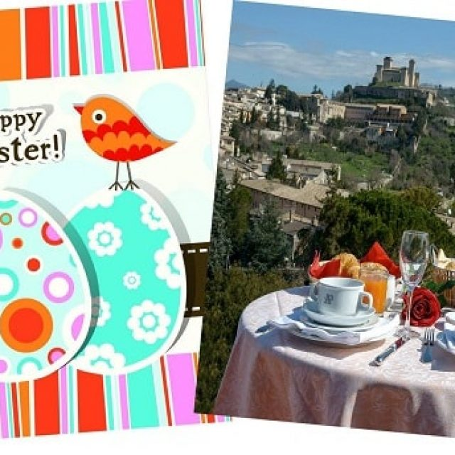 Get your spring stay with the easter holiday package in Spoleto!